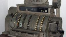 Кассовый аппарат 1908 года производства