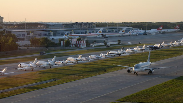 Аэропорт «Борисполь» нарастил пассажиропоток на 13%