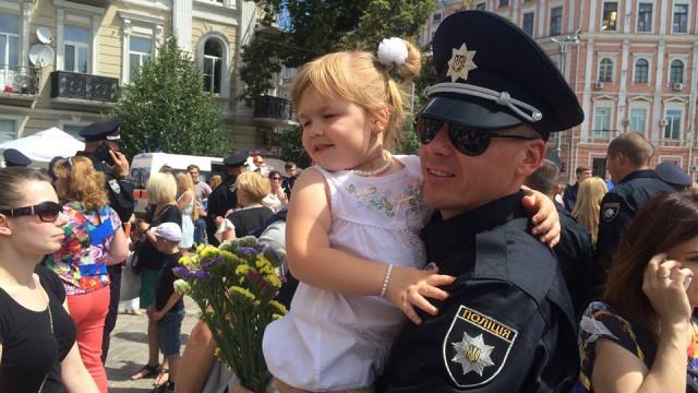 В Киеве появилась полиция