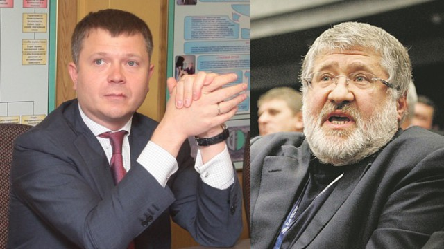 Игорь Коломойский и Константин Жеваго