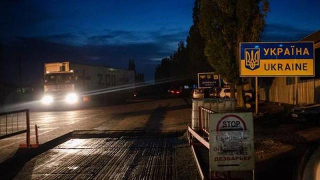 На границе с Польшей - снова скопление авто