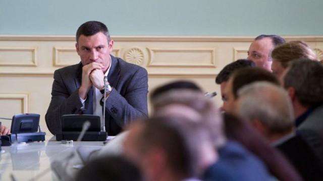 Виталий Кличко, глава Киевсовета