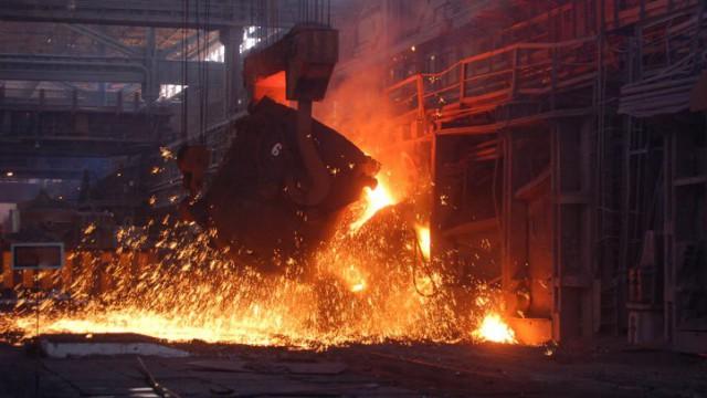 Металлурги сократили выплавку стали на 24%
