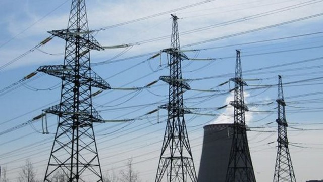 Производство электроэнергии упало на 14,4%