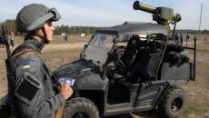 Квадроцикл с противотанковым комплексом Стугна-П