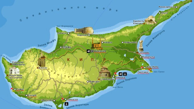 Кипр станет принимать привитых от COVID-19 туристов без тестирования