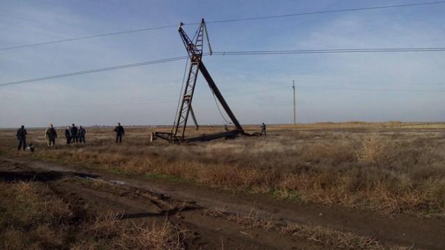 В России открыли дело за подрыв ЛЭП в Украине