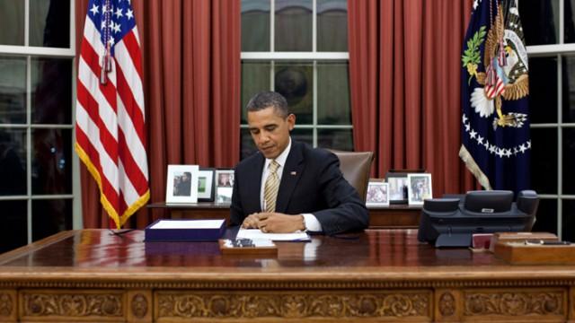 Обама подписал бюджет с помощью для Украины