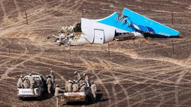 В РФ признали катастрофу самолета А321 терактом