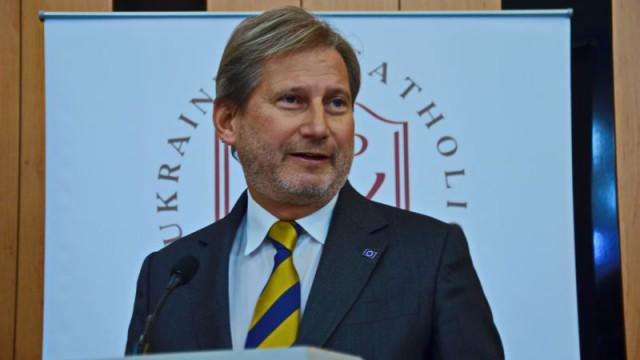 Еврокомиссар Йоханнес Хан поделился впечатлениями от наших реформ