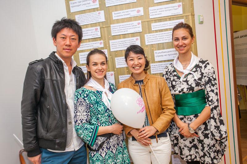 Представители японской культуры помогли организовать работу по японской методике