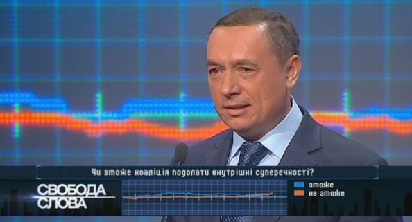 Нардеп Мартыненко пообещал сложить мандат