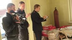 Полиция обыскивает НАПК