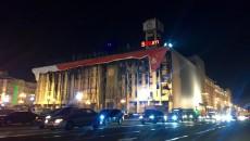 Кабмин обязал убрать рекламу с Дома профсоюзов в Киеве