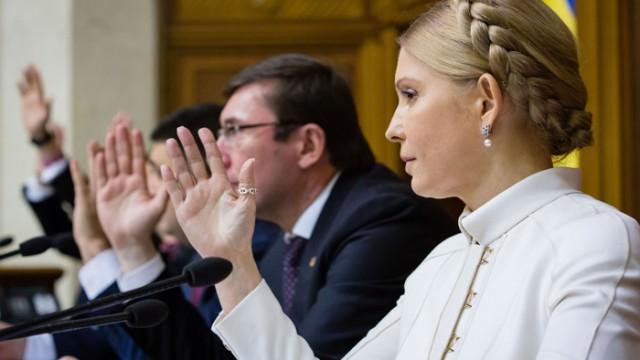 «Батькивщина» поддержала перенос отчета Яценюка