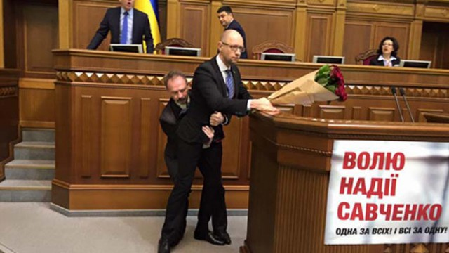 Нардеп из БПП пояснил, почему набросился на Яценюка