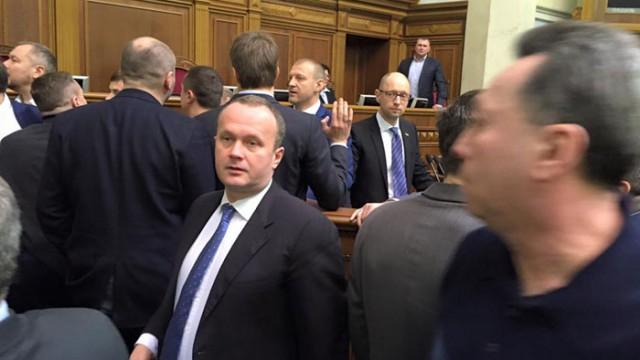 За атаку на премьера нардепа из БПП исключили из фракции