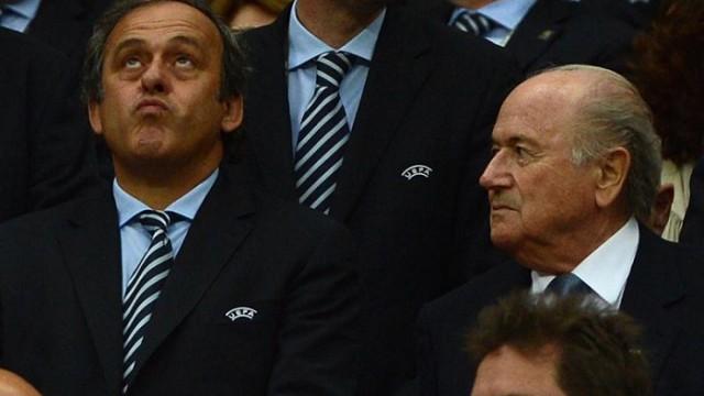 ФИФА отстранила Блаттера и Платини от футбола на 8 лет