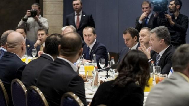 Порошенко пригласил израильский бизнес в Украину