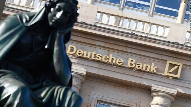 Deutsche Bank получил чистый убыток в €6,8 млрд