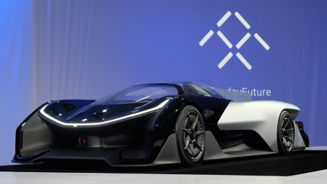 Faraday Future презентовала конкурента Tesla