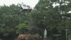 Презентован первый пассажирский дрон