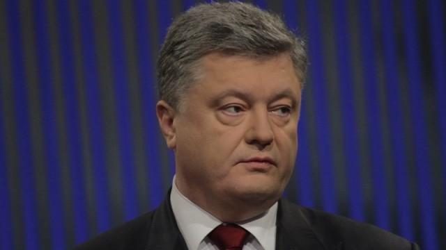Порошенко пришел в Раду помолчать перед депутатами