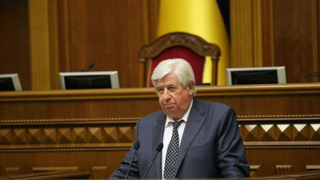 Шокин отнес Порошенко свое заявление об увольнении