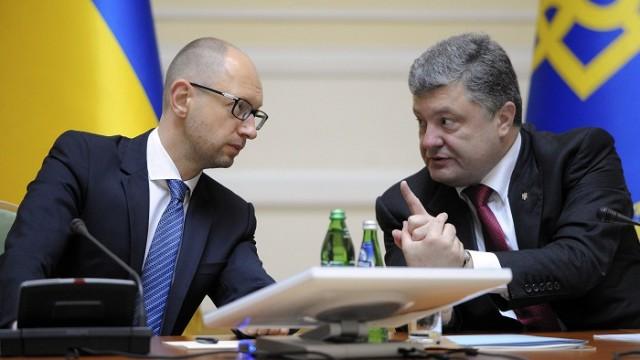 Порошенко с Яценюком объяснят послам G7 курс власти