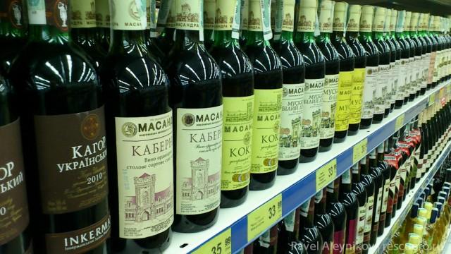 Оккупанты наладили незаконный выпуск шампанского под брендом «Массандра»