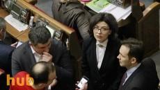 Работу Рады прервала вице-спикер Сыроид после блокирования трибуны