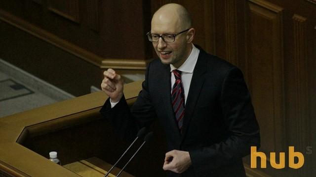 Яценюк убежден, что Порошенко не призывал его к отставке