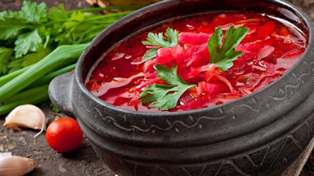 Борщ попал в топ самых вкусных блюд мира