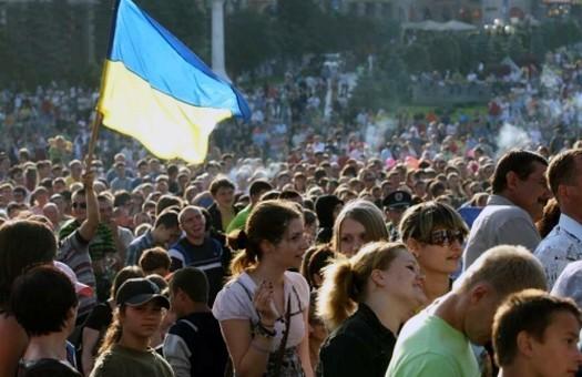 Украинцев за год стало меньше