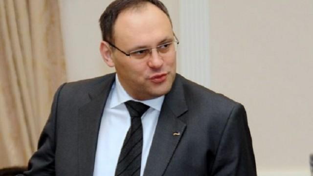 Экс-главу Госинвестпроекта Каськива объявили в розыск
