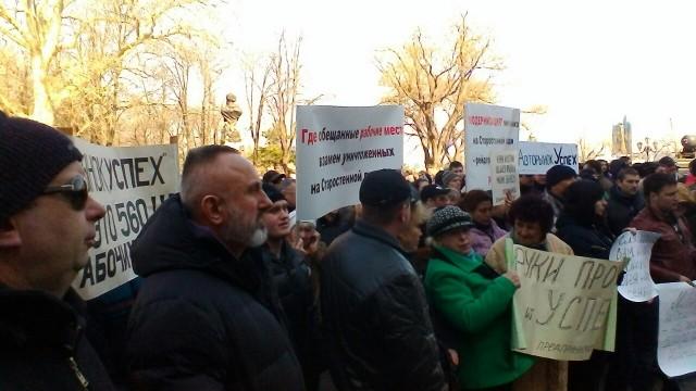 Одесса: малый бизнес обвинил мэрию в «наезде»