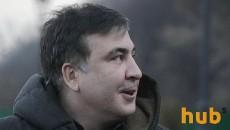 Он вам не Мишка: Саакашвили переночевал в палатке у Рады