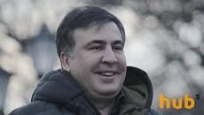 На День смеха Украину посетит Саакашвили
