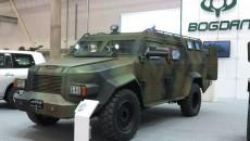 Компания Порошенко представила очередной бронеавтомобиль