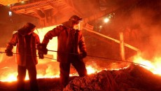 «Запорожсталь» снизила выплавку стали
