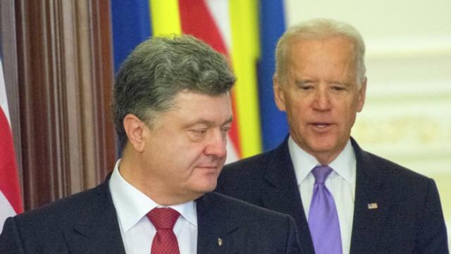 Порошенко договорился с Байденом о новом транше в $1 млрд