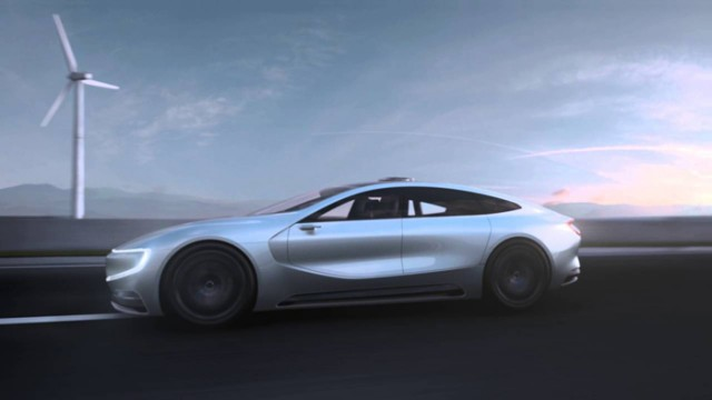Китайская компания презентует конкурента Tesla Model S