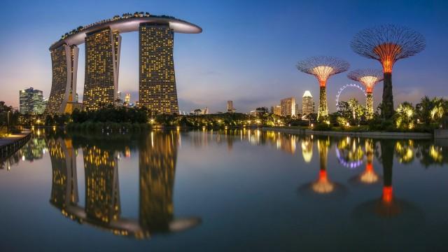 Сингапур приостановил торговлю с Северной Кореей