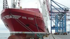 В Одесском порту впервые грузят целые гигантские краны
