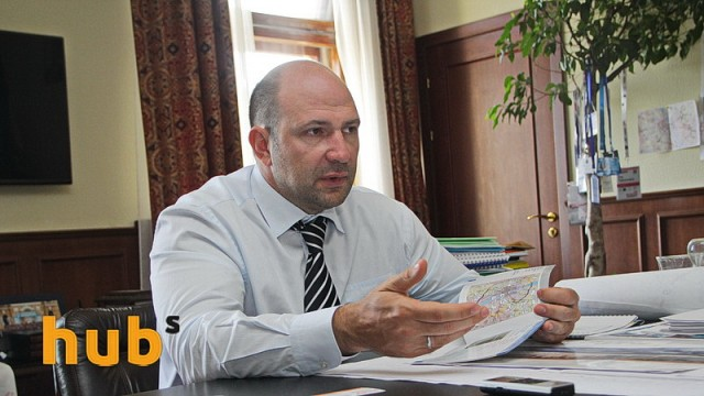 Парцхаладзе уходит с поста первого замглавы Киевской ОГА