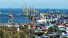 Ильичевский порт становится