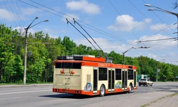 В Кривом роге обкатывают дизельный троллейбус