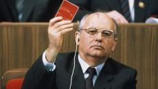 Горбачев поддержал аннексию Крыма