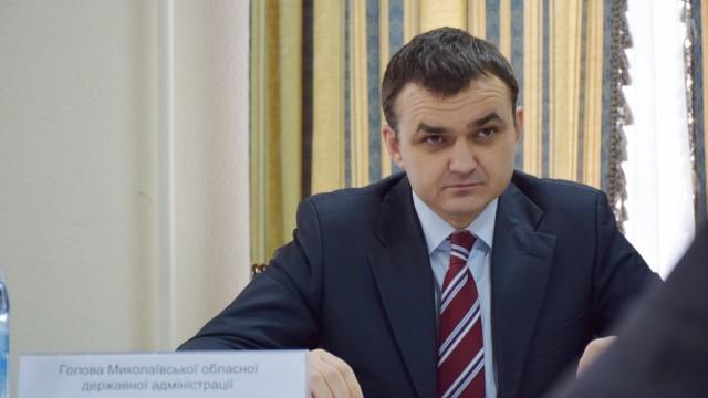 Губернатор Николаевской области ушел в отставку