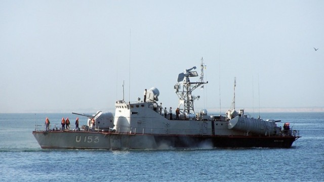 Корабль «Прилуки» ремонтировали на обесточенном заводе